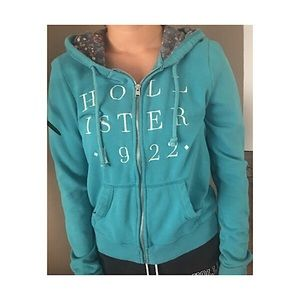 Zip up jacket sweatshirt